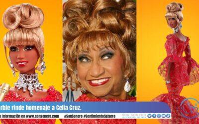 Barbie rinde homenaje a Celia Cruz